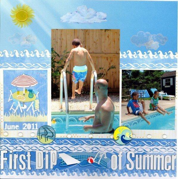 First Dip of Summer