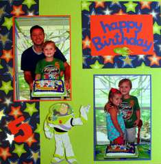 Toy Story Birthday - Page 1 of 2