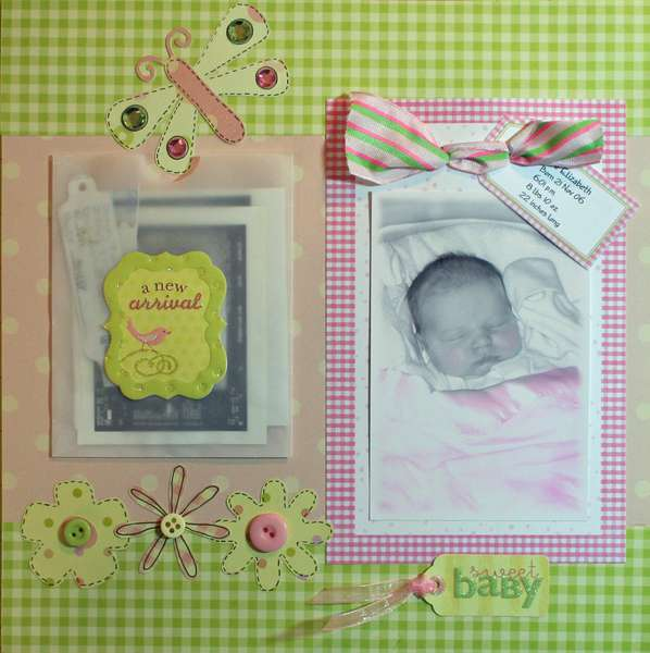 Baby Book - Page 1
