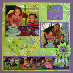 Tinkerbell Birthday Page 2