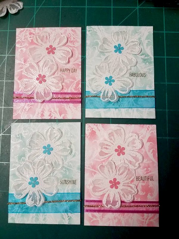 ATC with emboss resist