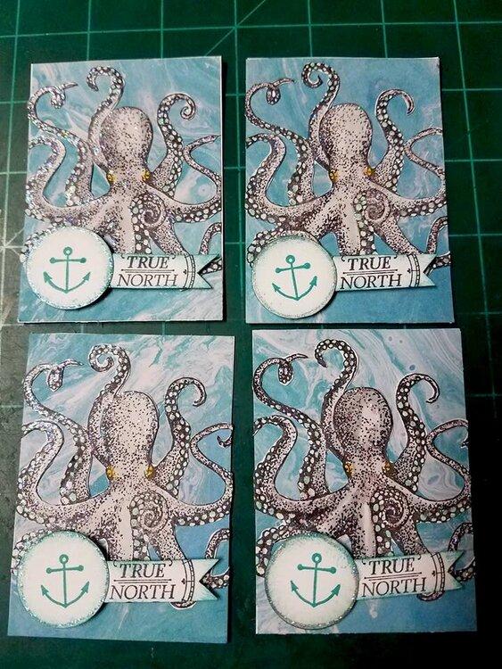 August ATC sea creature theme