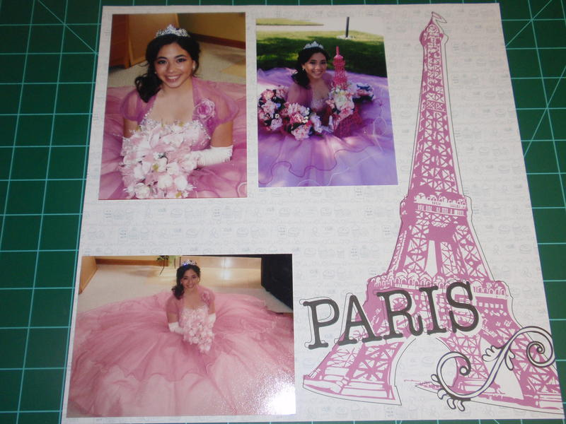 Paris theme Quinceañera