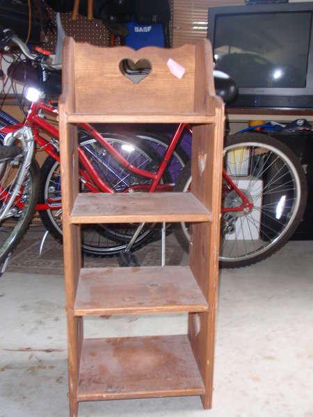 My $3 Dollar Shelf