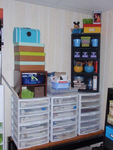 Organizing My Scrap Area