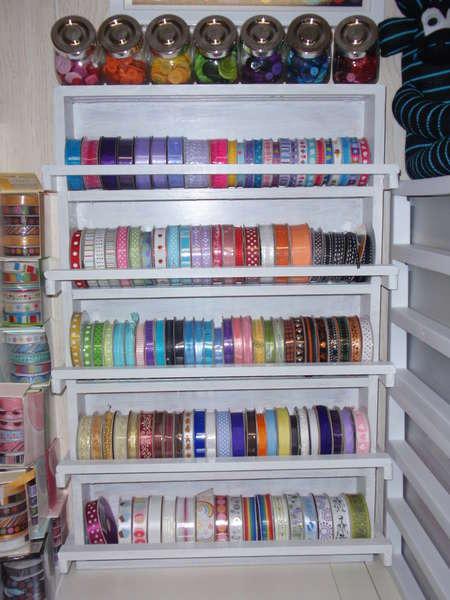 Craft Room Storage Diy Scrapbook Paper