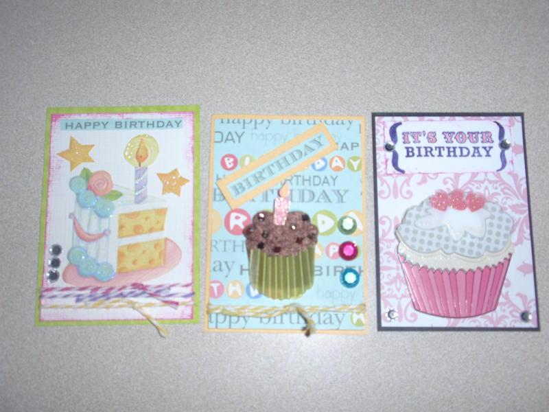 ATC for birthdays