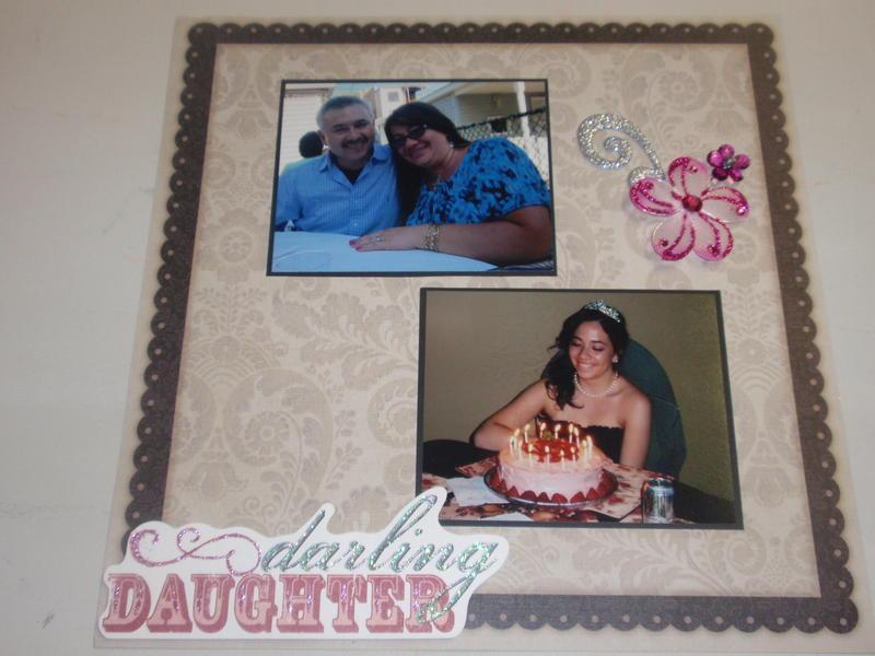 Daughters Quinceañera