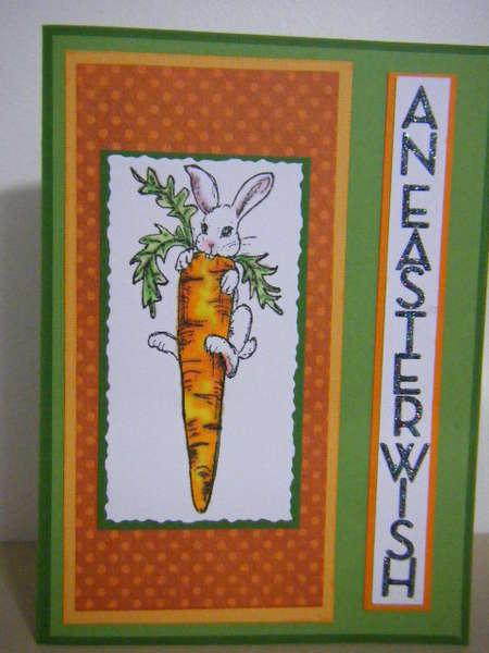 Card: Easter Carrot
