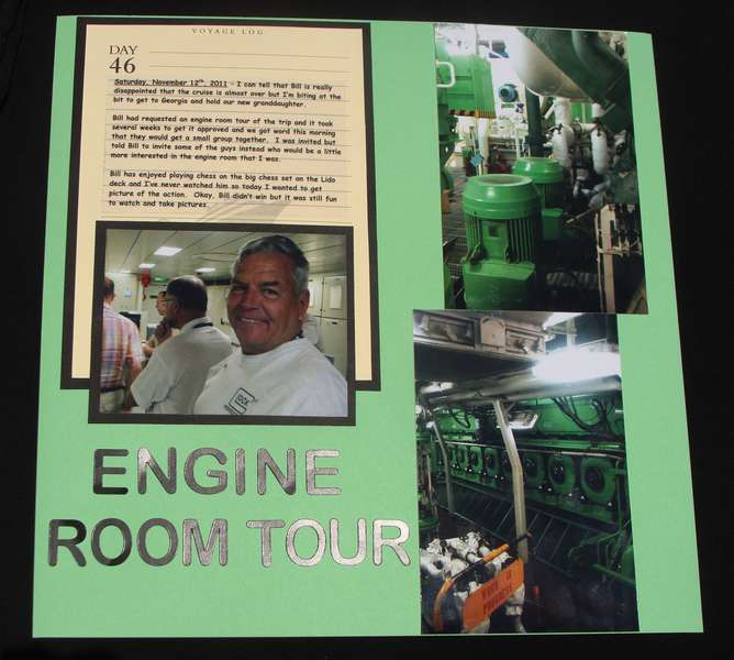 Engine Room Tour Left