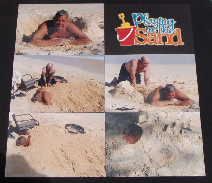 Hawaii - playing in the sand