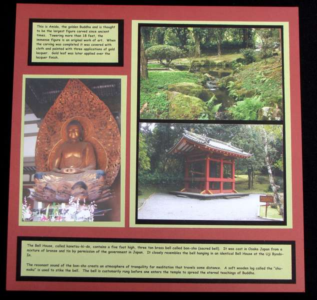 Hawaii - Byodo-In Temple - RIght Side