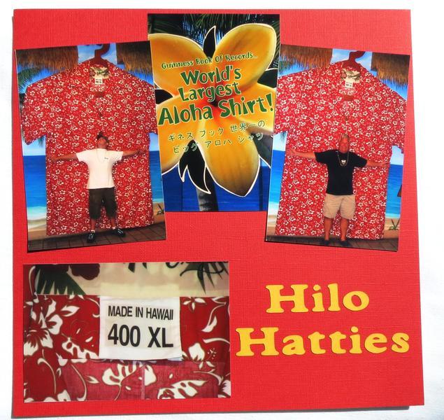 Hawaii - Hilo Hattie's 400 XL Aloha Shirt