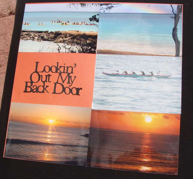 Lookin' Out My Back Door