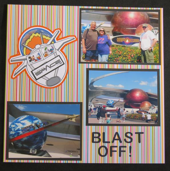 Epcot - Blast Off