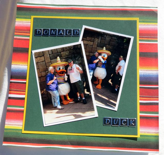 Epcot - Donald Duck