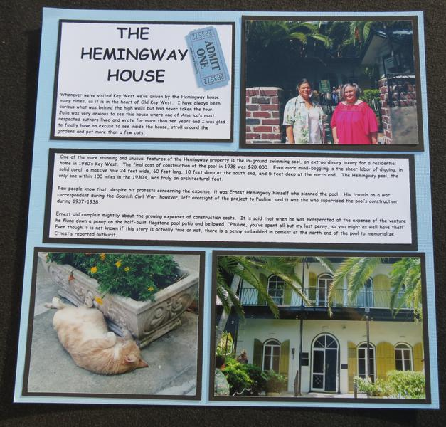 Key West - Hemingway House Left