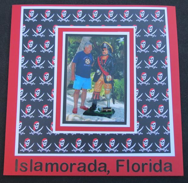 There's the Pirate Again!  Islamorada, Florida