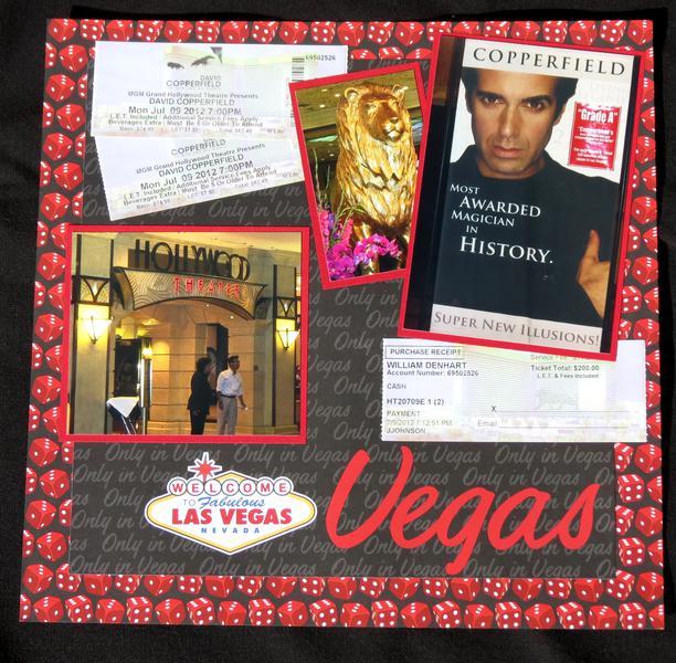 Las Vegas - David Copperfield Show