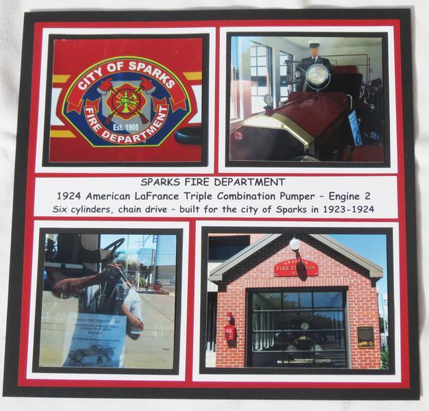Road Trip - Sparks Antique Fire Engine