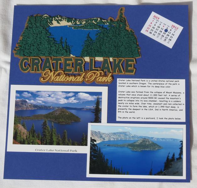 Road Trip - Crater Lake