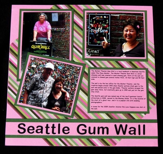 Road Trip - Seattle Gum Wall