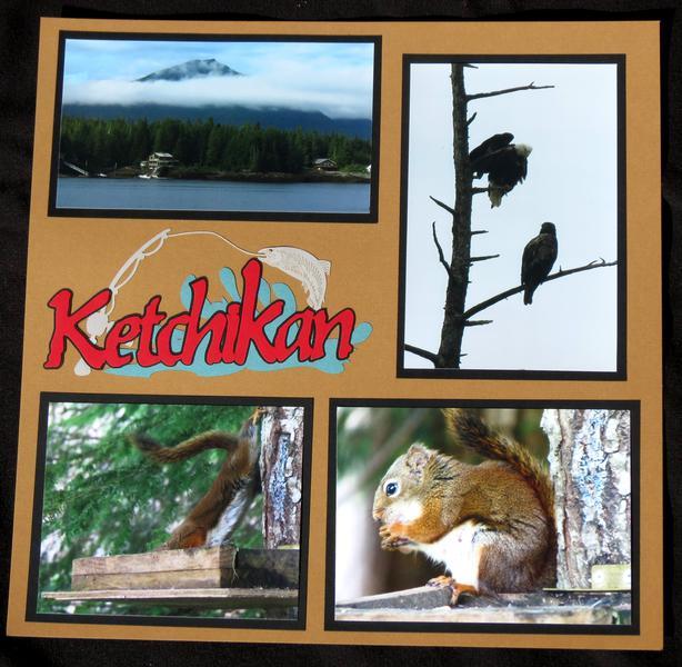 Ketchikan, Alaska Title Page