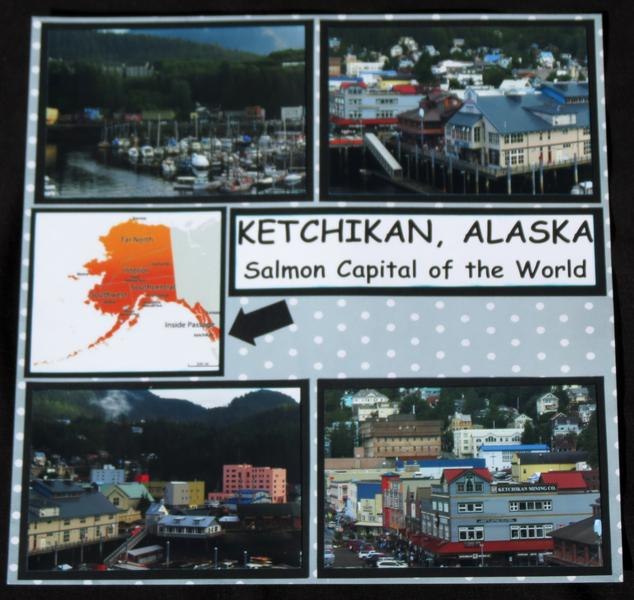 Ketchikan, Alaska - Creek St. Left