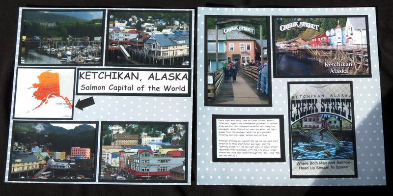 Ketchikan, Alaska - Creek St. Both