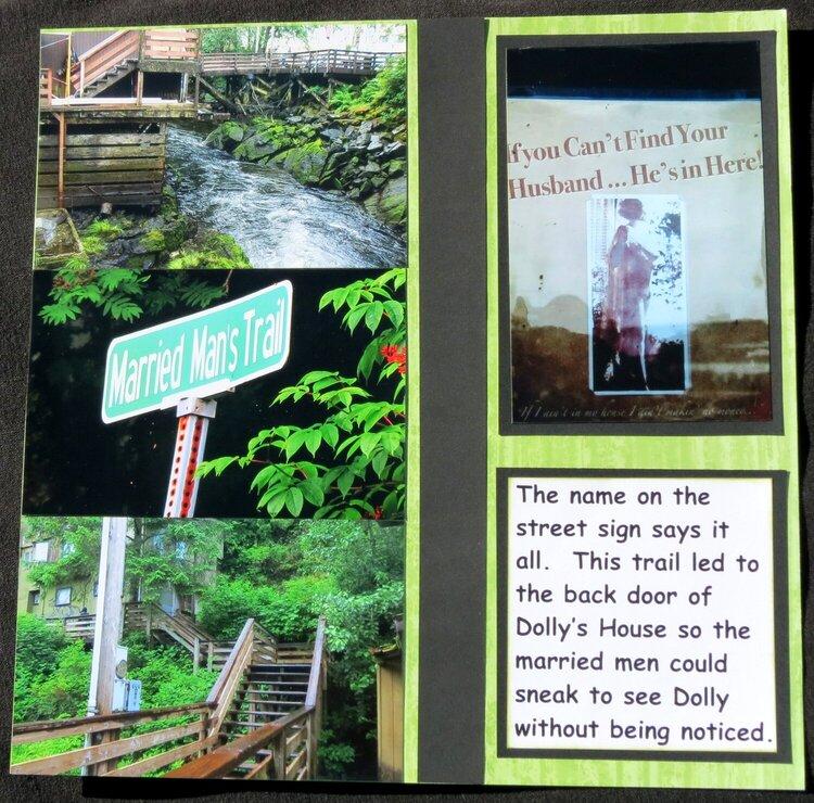 Ketchikan - Trail behind Dolly's House (Brothel)