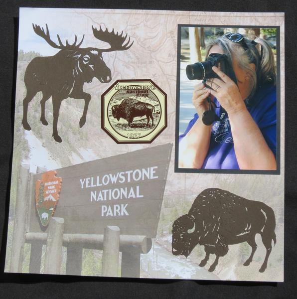 Yellowstone Title Page