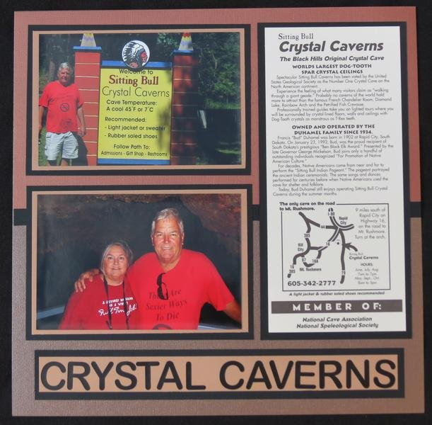 Sitting Bull Crystal Caverns - Page 2 (right)