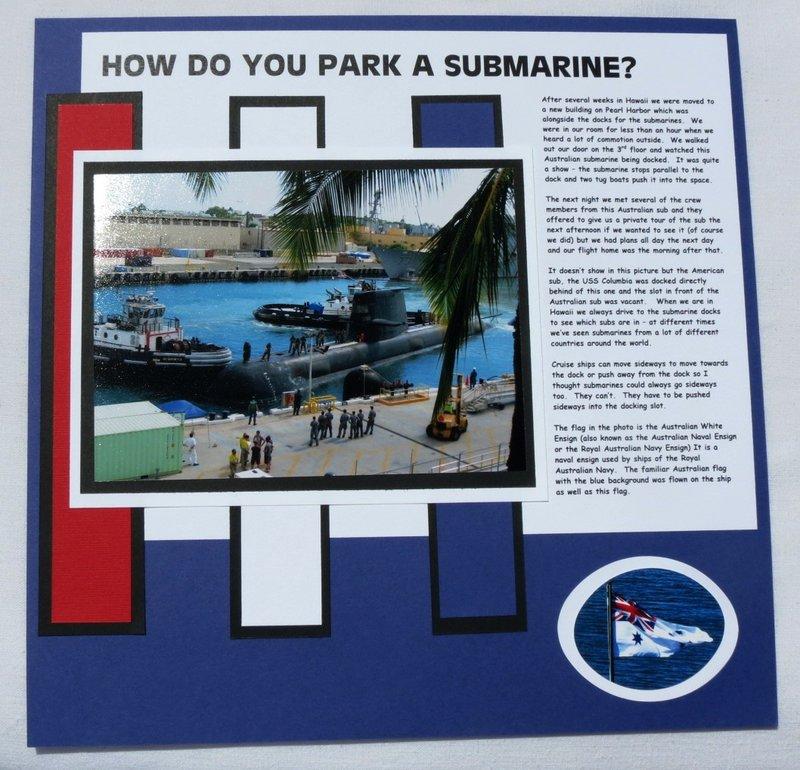 How do you Park a Submarine?