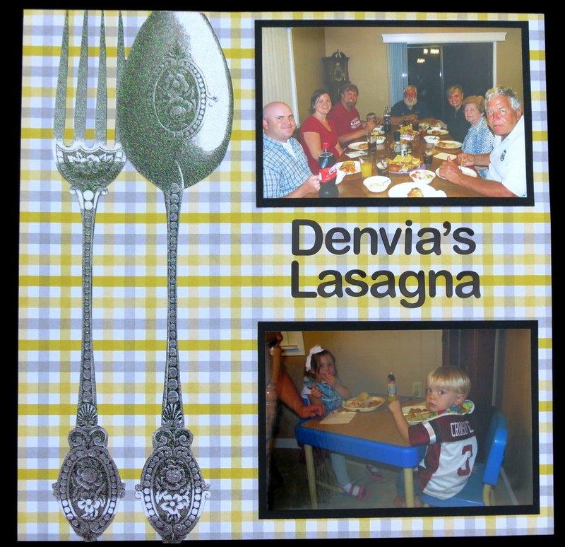 Denvia's Lasagna