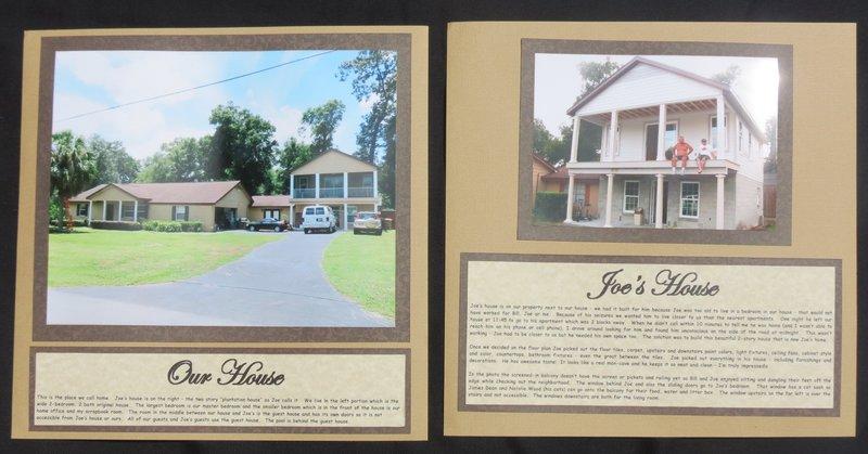 Our House and Joe's House