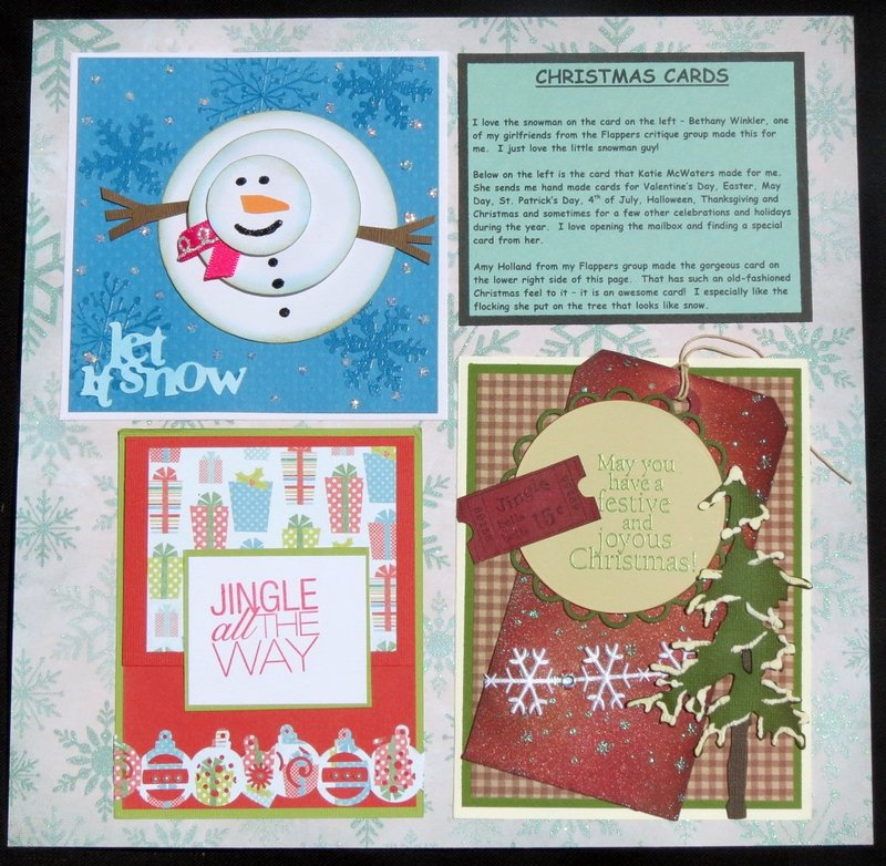 Christmas Cards - Left Side