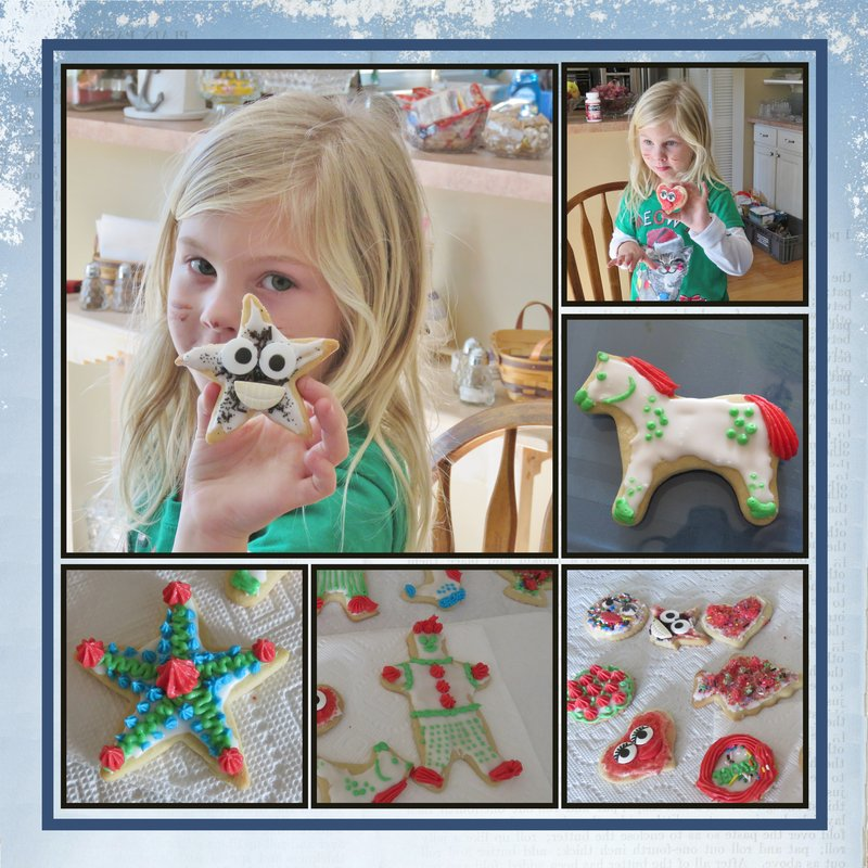 Page 6 - 2018 Volume Challenge - decorating Christmas Cookies