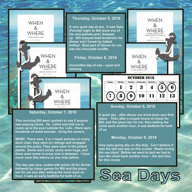 93 Sea Days
