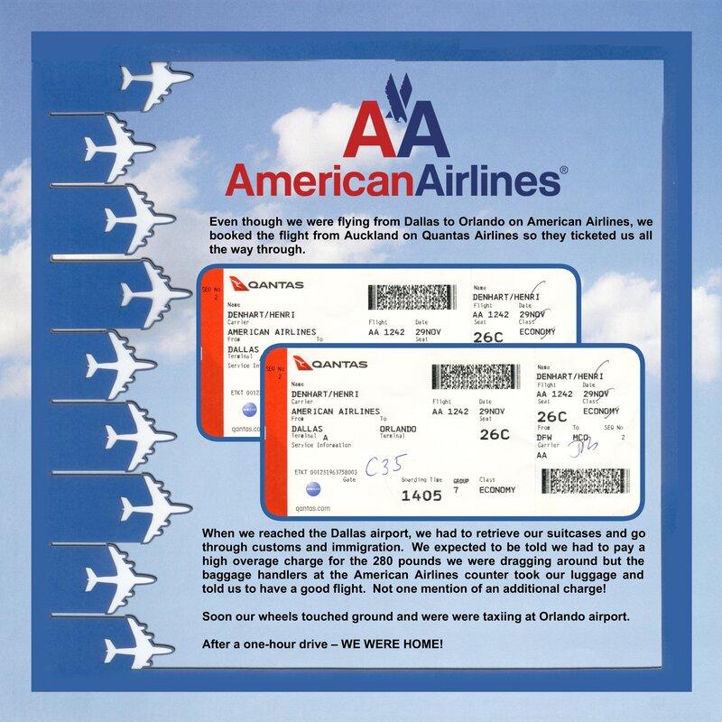 405 Flight Home