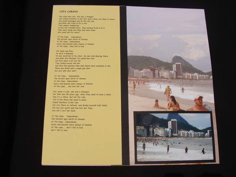 Rio de Janeiro - Copa Cabana
