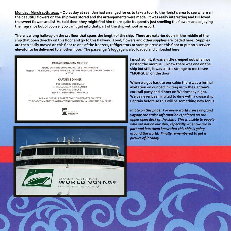 Page 322 - Volume Challenge- 2014 World Cruise