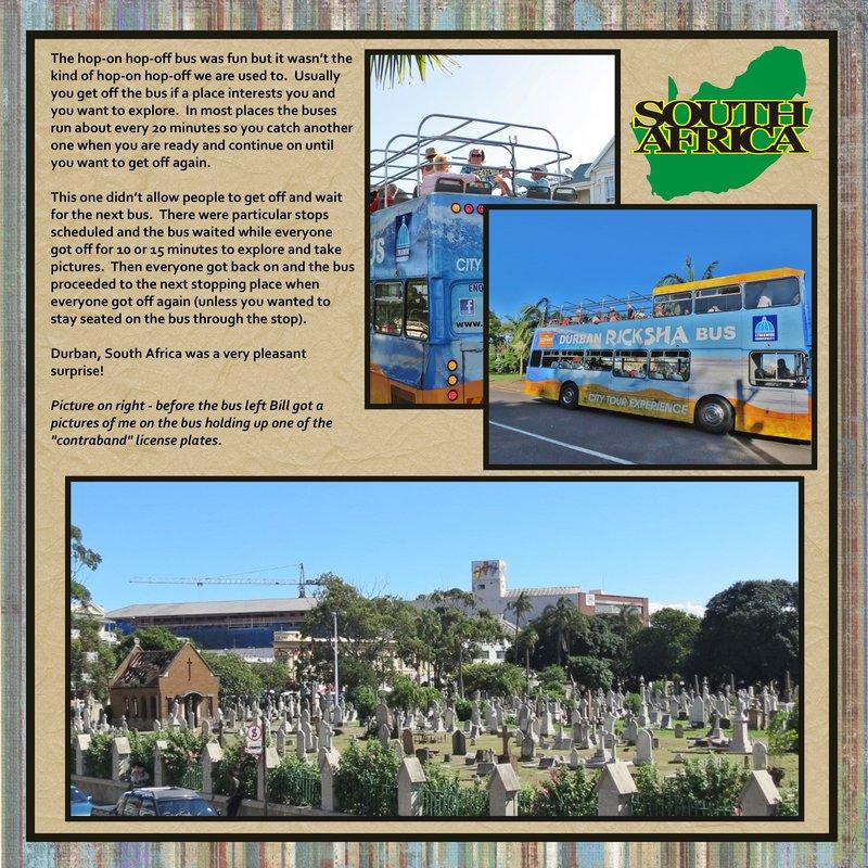 Page 384 - Volume Challenge- 2014 World Cruise - Durban, South Africa