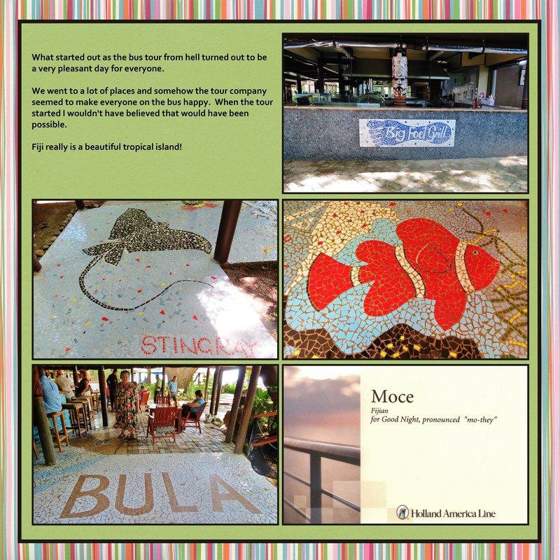 Page 221 - Volume Challenge- 2014 World Cruise - Fiji