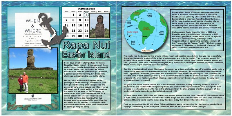 81 (both sides) Easter Island - Rapa Nui