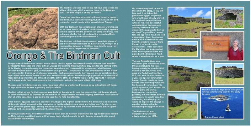 85 (both sides) Easter Island - Rapa Nui