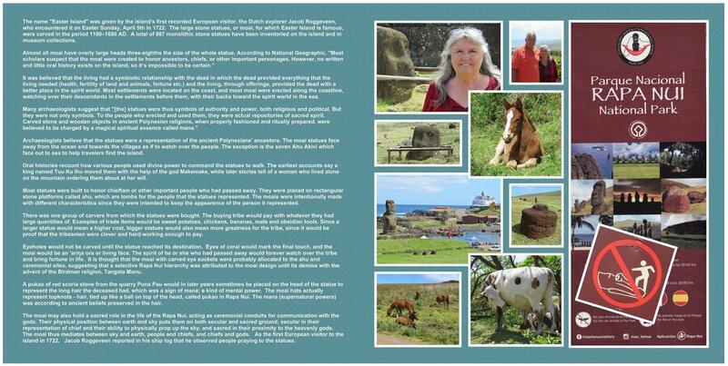 87 (both sides) Easter Island - Rapa Nui