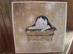 Precious Baby Christmas card