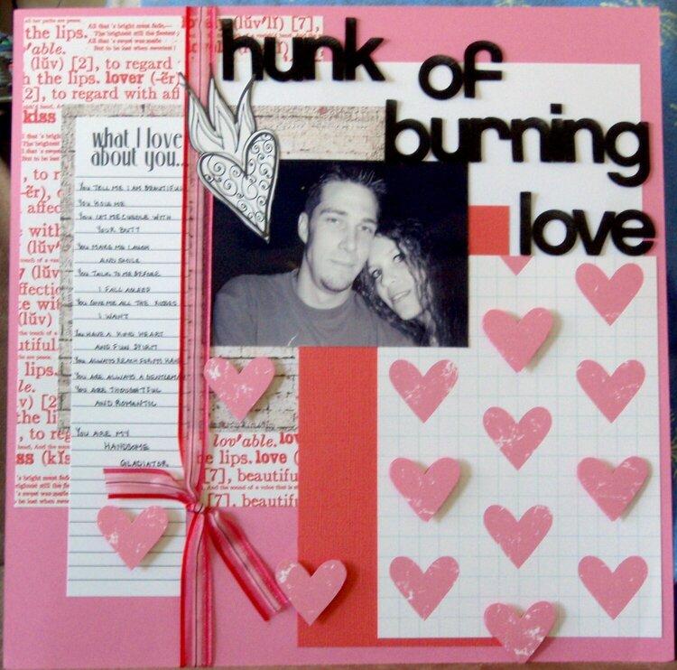 hunk of burning love