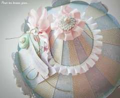 Carrousel Shabby Chic for Melissa Frances (top)