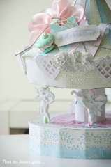 Carrousel Shabby Chic for Melissa Frances